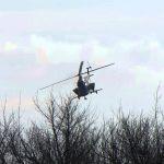 Подкормка рапса аммиачной селитрой - услуги вертолета