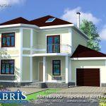 Архитектурное проектирование кирпичных коттеджей и домов