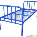 Кровати металлические для казарм и госпиталей