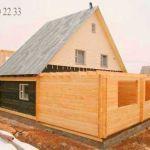 Бригада строителей плотников