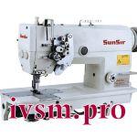 Двухигольная швейная машина SunSir SS-D875