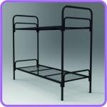 Двухъярусные металлические кровати для рабочих, кровати оптом