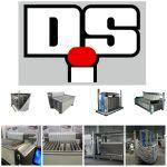 Контактная плиточная заморозка  DSI