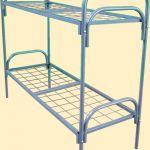 Кровати металлические для военных казарм, кровати для турбаз