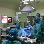 Лапароскопические операции в гинекологии. Харбин, Китай.