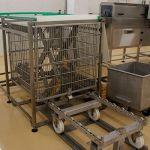 Лифт загрузки-разгрузки автоклавных корзин BESTEQ-LLAB-1200