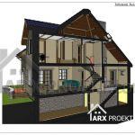 Проекти дачних двоповерхових будинків