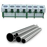 JZ-P10010 Станок для полировки металлической трубы (7 головок)