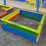 Детские песочницы из дерева и фанеры
