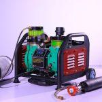 Электрический компрессор высокого давления безмасляный 400 Бар, 220 Вольт