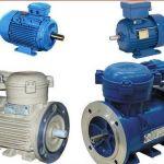 Электродвигатели  В, ВА, ВАО, АИММ, АИМТ от 4 до 132 кВт