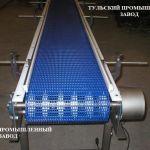 Прямоходная модульная лента с шагом 25 от Российского производителя в Москве и на заводе в Туле.