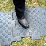 Резиновое напольное покрытие для транспортного коридора
