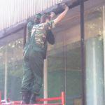 Резка стекла, доставка, установка, монтаж витрин