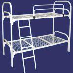 Железные армейские кровати, одноярусные металлические для больниц, бытовок, общежитий, интернато