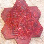 Пластиковые формы для тротуарной плитки.