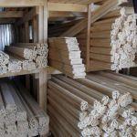 Погонаж деревянный, элементы лестниц