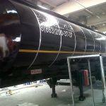 Полуприцеп-цистерна для транспортировки темных нефтепродуктов NURSAN 35 м3