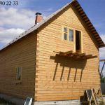 Построить деревянный дом на даче             .