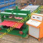 Производство глазурованной черепицы (профнастил). Оборудование из Китая.