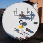 Резервуар для хранения углекислоты рдх-30,0 (с холодильником) вертикального исполнения