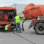 Комплексная прочистка систем канализации и ливнекстоков.