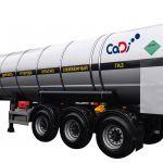 Полуприцеп-цистерна для углекислоты ЦЖУ-18,0 (шасси Steelbear)