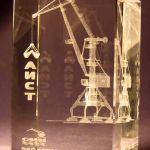 Бизнес-сувениры из стекла и фото в стекле