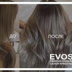 Восстановление волос с косметикой Creattiva.- отличный результат