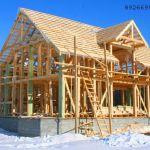 Построить каркасный дом на даче