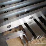 Изготовление заточка ножей для гильотинных ножниц, комбинированных пресс-ножниц и станков для ру