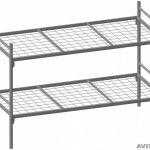 Металлические кровати дешевые оптом для солдат строителей и рабочих