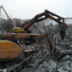 Резиновые гусенрицы строительных демонтажных роботов BROKK